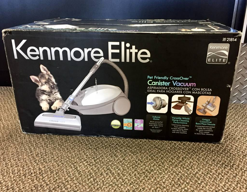 Kenmore Elite 21814 Crossover Pet Friendly Vacuum - New in Box