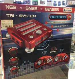 Retron 3 - 3-in-1 NES/SNES/Genesis Game Console - 1 Controller