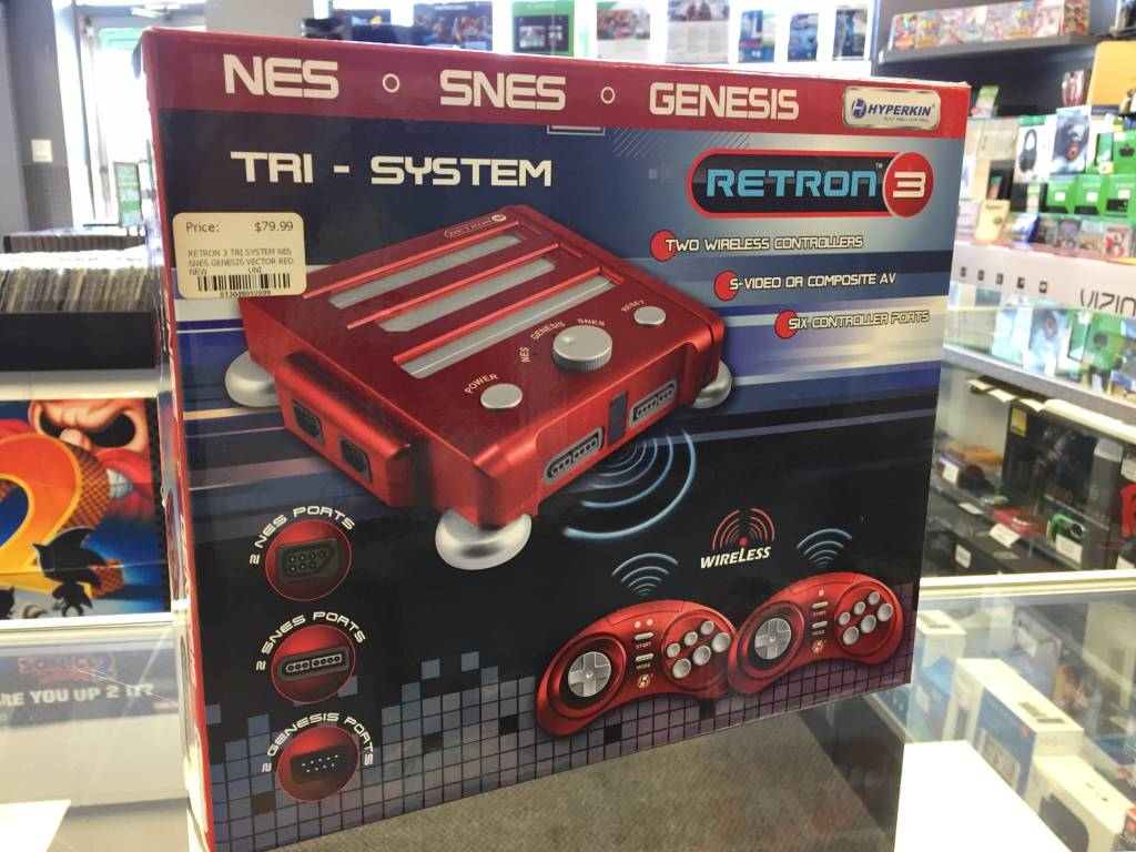 Retron 3 - 3-in-1 NES/SNES/Genesis Game Console - 1 Controller