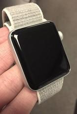 4G/GPS - Apple Watch Series 3 - 42mm - Silver - Seashell Velcro Band