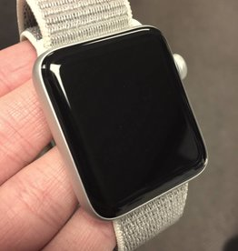 4G/GPS - Apple Watch Series 3 - 42mm - Silver - Seashell Velcro Band