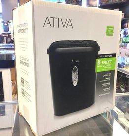 Ativa 8-Sheet Cross Cut Shredder - 918-158