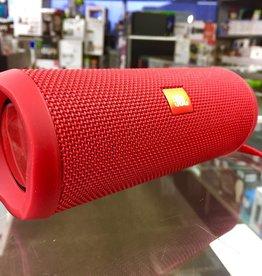 JBL Flip 4 Waterproof Bluetooth Speaker - Red