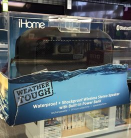 New - iHome Weather Tough Bluetooth Rugged Speaker