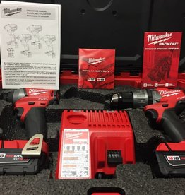 Milwaukee M18 Fuel Hammer Drill / Impact Driver Pack-Out Combo Kit - 2897-22