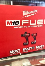 Milwaukee M18 Fuel Hammer Drill / Impact Driver Combo Kit - 2897-22