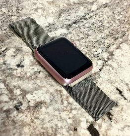 Apple Watch Series 7000 - 42mm - Rose Gold - Non Genuine Metal Band