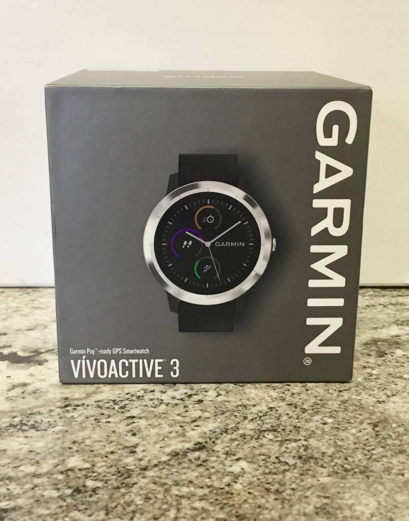 New Open Box - Garmin Vivoactive 3 - Black