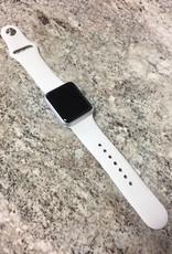 Apple Watch Series 7000 - 38mm - Silver Aluminum - White S/M Band - Fair