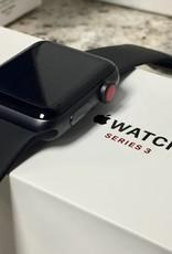 4G/GPS - Apple Watch Series 3 - 42mm - Black - CIB