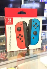 Neon Red & Blue - Nintendo Switch JoyCon Controller Pair - New