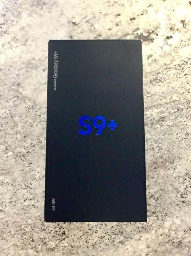 New Open Box - Verizon Only - Samsung Galaxy S9 Plus - 64GB - Black