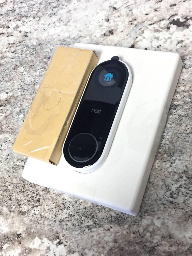 Nest Hello - Smart Door Bell Camera - New Open Box