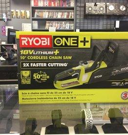 "Ryobi P547 10"" ONE+ 18V Cordless Chainsaw Kit"