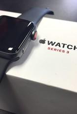 4G/GPS - Apple Watch Series 3 - 38mm - Black - CIB - Apple Care 2019