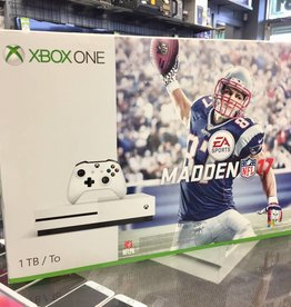 Brand New - Xbox One S Console - 1TB - White - Madden 17 Bundle