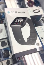 FitBit Versa - New -  Small & Large Bands - Black