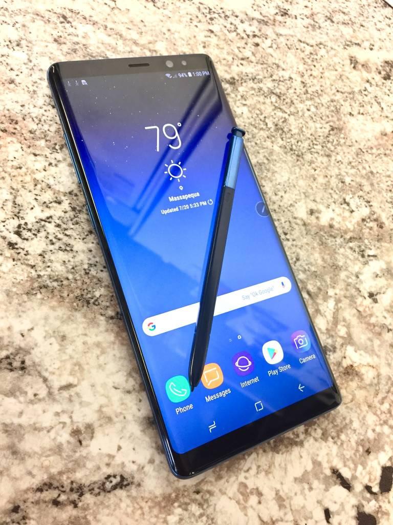 Unlocked - Samsung Galaxy Note 8 - 64GB - Deep Sea Blue