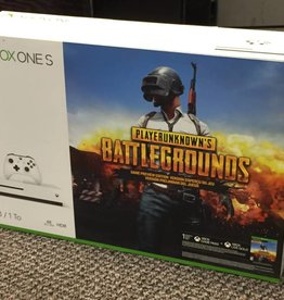 New - Xbox One S 1TB PLAYERUNKNOWN'S BATTLEGROUNDS Game Preview Edition Bundle