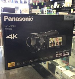 New - Panasonic HC-VX981 4K Wireless Camcorder / Multi-Camera