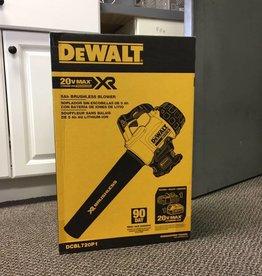NEW Dewalt 20V MAX 5.0 Ah Lithium Ion XR Brushless Blower Handled Cordless