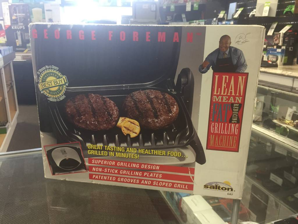 George Foreman GR7 Compact Grill - New