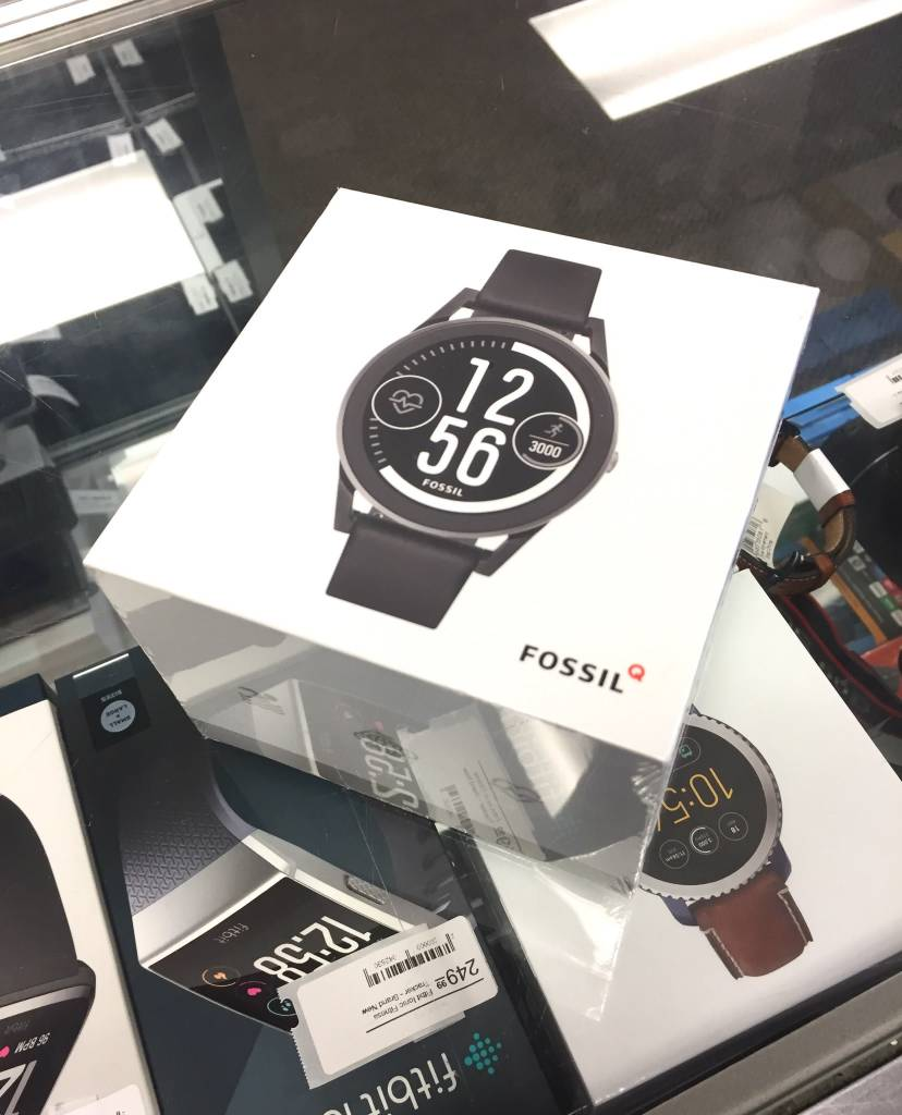 Fossil Q Control - Gen 3 Smart Watch - New - Black