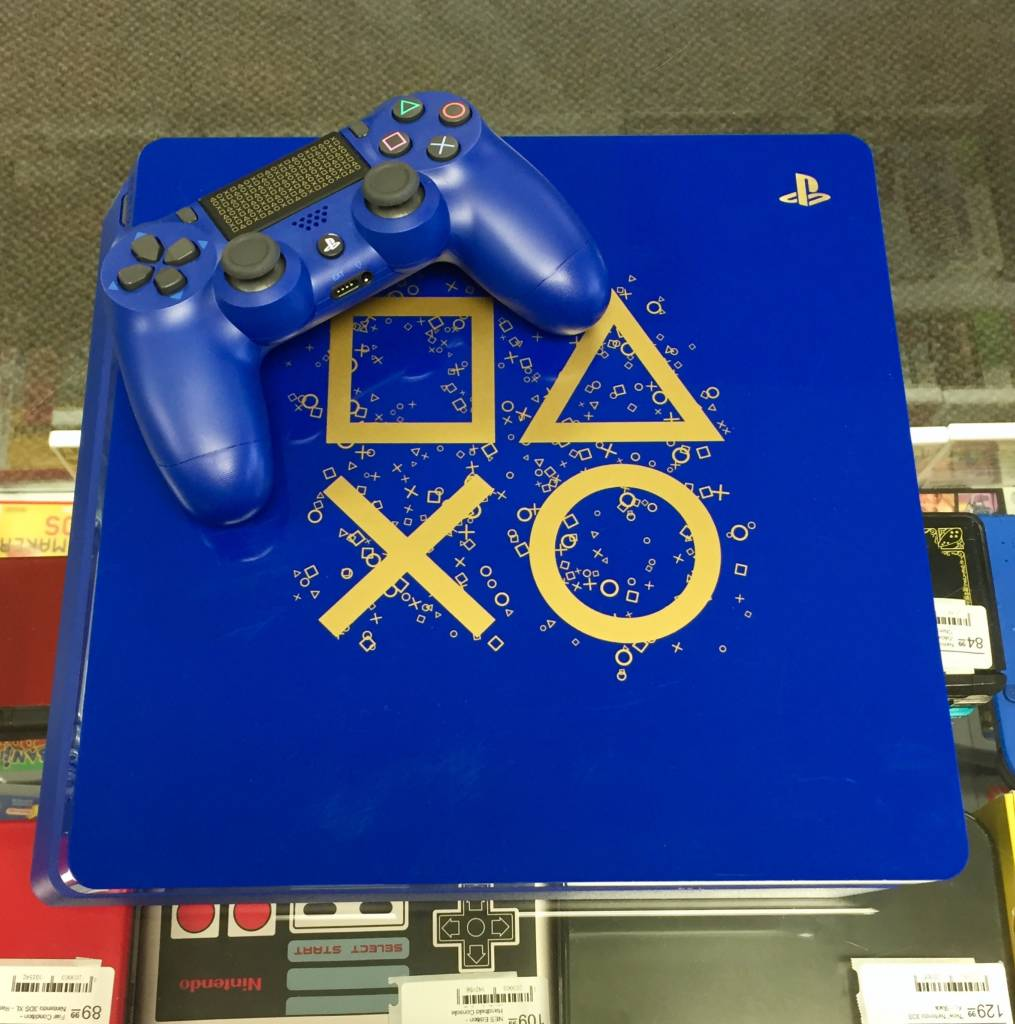PlayStation 4 Slim - 1TB - Days of Play Limited Edition System -