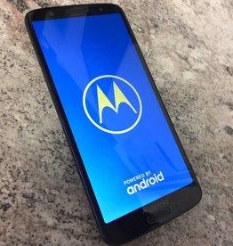 Unlocked - Motorola Moto G6 - 32GB - Black - Fair