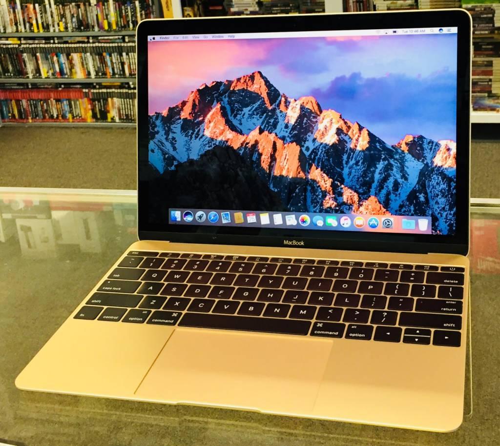 "Apple Macbook - 12"" Early 2016 - Intel Core m3 1.1GHz - 8GB Ram - 256GB SSD - Retina Display - Gold"