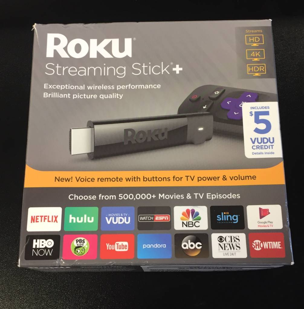 Roku Streaming Stick Plus + w/ 4K Ultra-HD