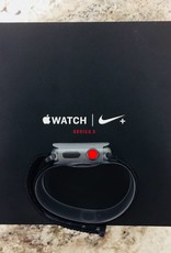 New Open Box - 4G/GPS - Apple Watch Series 3 - 38mm - Nike+ Space Gray Aluminum