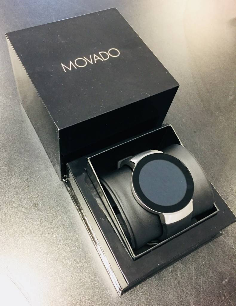Movado Connect SmartWatch 46.5mm - Stainless Steal - Bluetooth Only