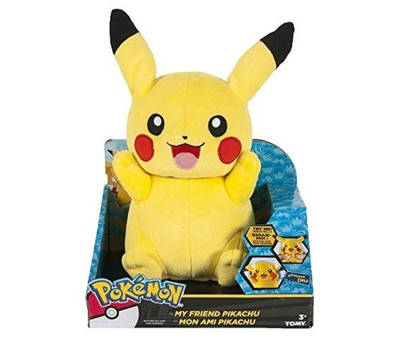 MY FRIEND PIKACHU - INTERACTIVE PLUSH