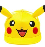 PIKACHU EMBROIDERED HAT WITH EARS - TRUCKER HAT