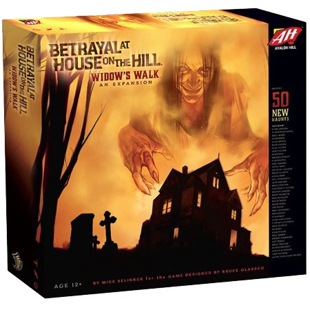BETRAYAL AT THE HOUSE ON THE HILL - WIDOW'S WALK