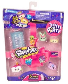 SHOPKINS - 5 PACK - SEASON 7