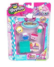 SHOPKINS - 5 PACKS - SEASON 6