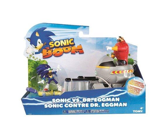 SONIC BOOM SONIC VS. DR. EGGMAN