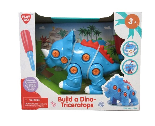 BUILD A DINO-TRICERATOPS