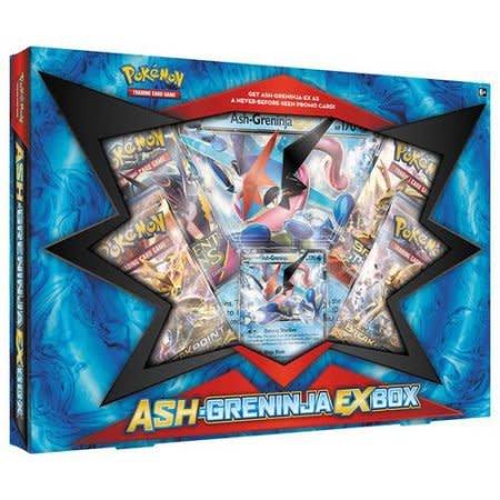 ASH-GRENINJA EX BOX