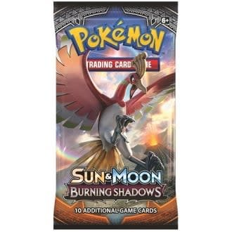 BURNING SHADOWS - BOOSTER PACKS
