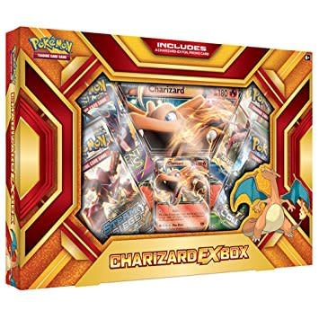CHARIZARD EX BOX