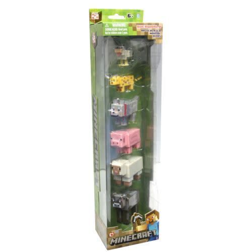 minecraft animal mobs collection teddy n me