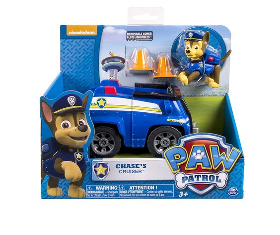 PAW PATROL ACTION FIGURE W/ VEHICLE - CHASE