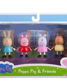 PEPPA PIG  & FRIENDS 4 PACK FIGURE