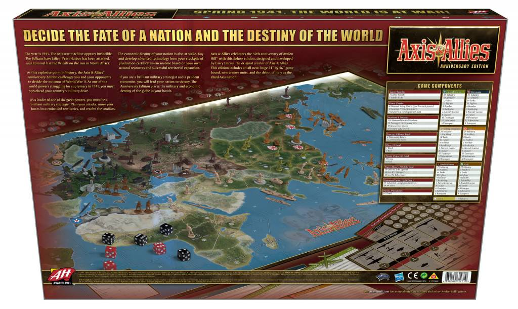 AXIS & ALLIES - SPRING 1941