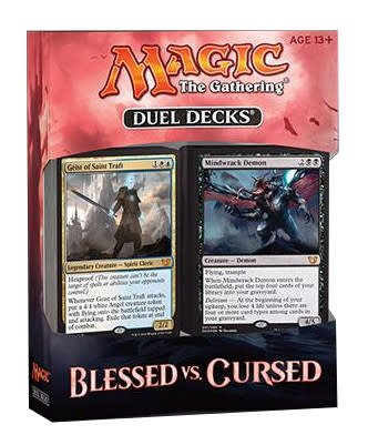 BLESSED VS CURSED - DUEL DECKS