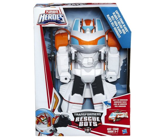 TRANSFORMERS RESCUE BOTS - OPTIMUS / COPTER