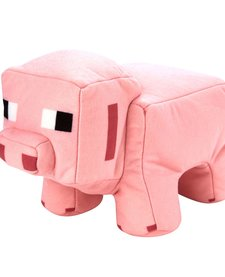 MINECRAFT REVERSIBLE PLUSH - PIG